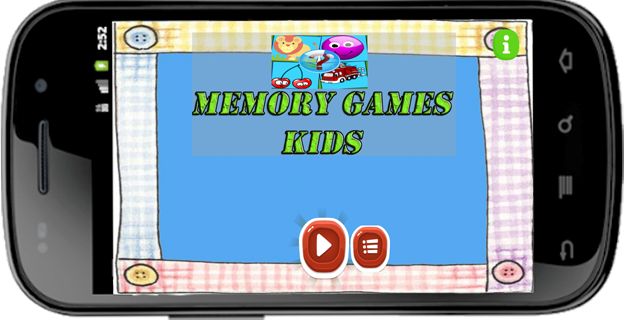 Memory Game Kids screenshot 1