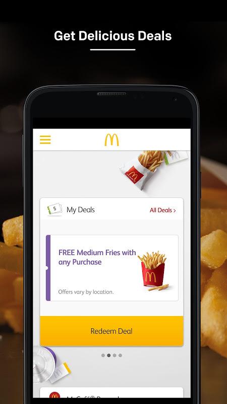 McDonald's screenshot 1