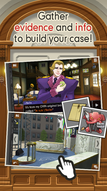 Ace Attorney: Dual Destinies screenshot 2
