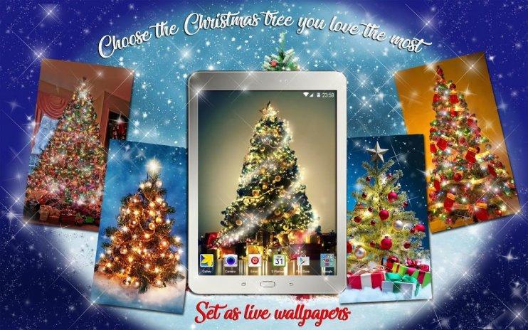 ... christmas tree wallpapers live free animated screenshot 11 ...