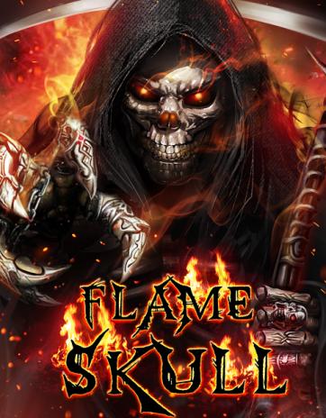 flaming grim reaper wallpaper اسکرین شات 1 ...