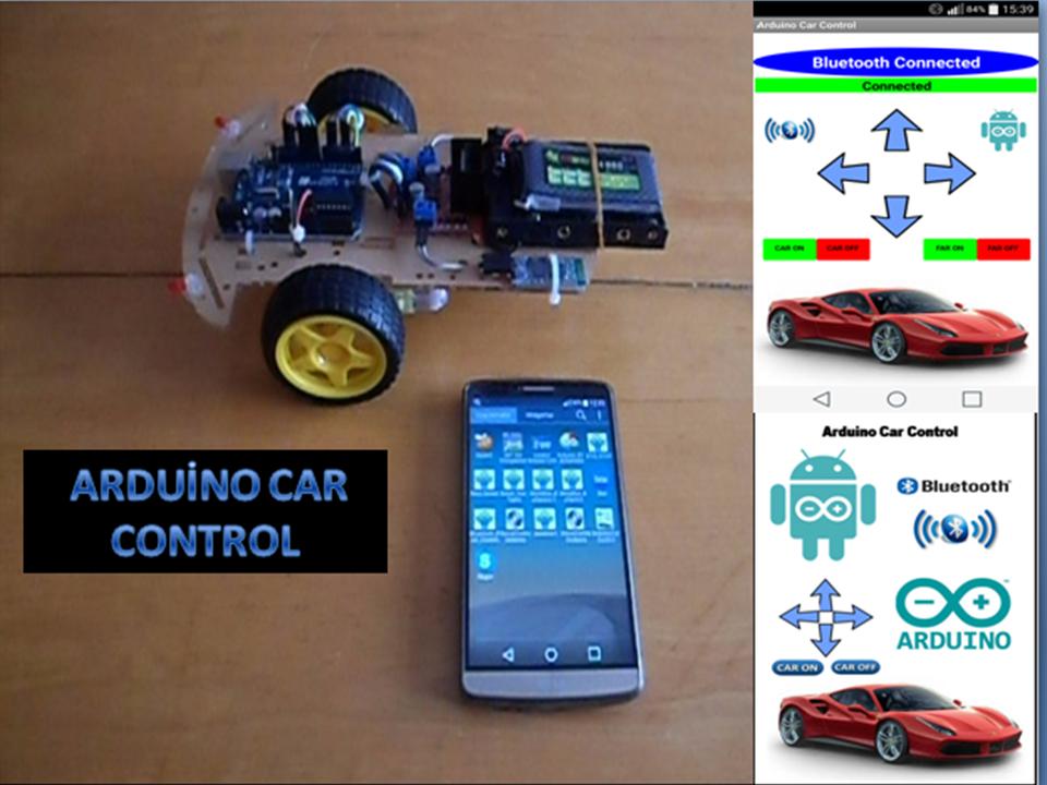 Arduino Car Control screenshot 1