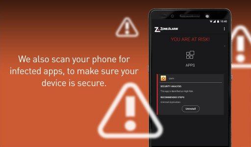 ZoneAlarm Mobile Security screenshot 14
