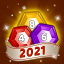 Merge hexagon jewel - Match 3 puzzles