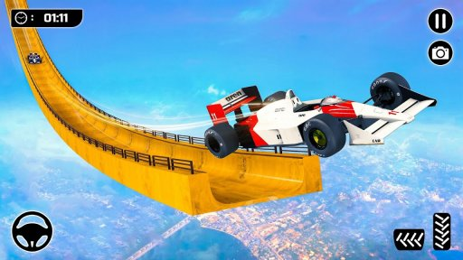 Mega Ramp Formula Car Stunts - New Racing Games screenshot 1