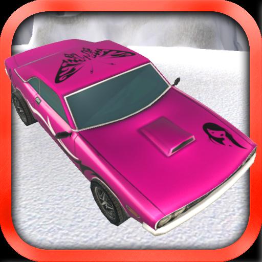 Jogo de carro rosa