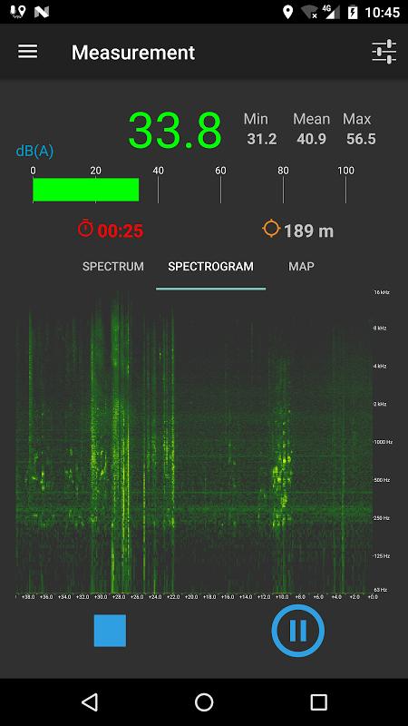 NoiseCapture screenshot 8