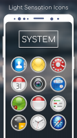 Light Sensation Icon Pack Screen