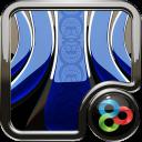 3D blue deluxe GO theme