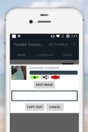 Video Downloader for tumblr Screenshot