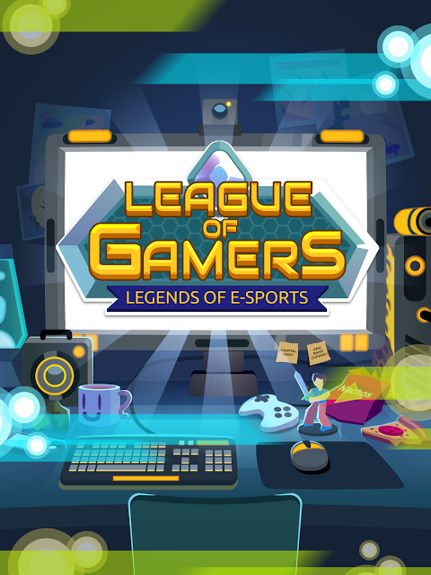 League of Gamers - Vire uma Lenda dos E-Sports! screenshot 2