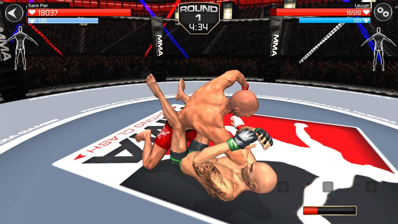 MMA Fighting Clash screenshot 2