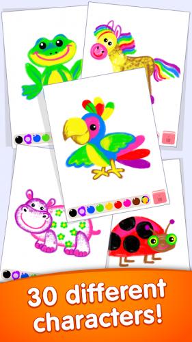 Cocuk Boyama Oyunlari Okul Oncesi Egitici Oyunlar 1 2 1 2 Android