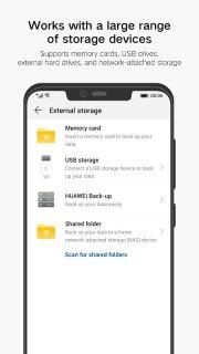 Huawei Backup screenshot 2