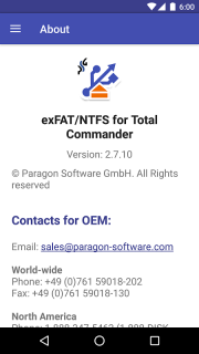 Microsoft exFAT/NTFS for USB by Paragon Software screenshot 11