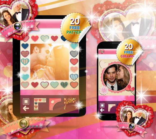Amor Marco de Foto Collage de 1.3 Descargar APK para Android - Aptoide