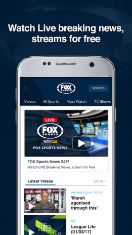 fox sports live stream apk