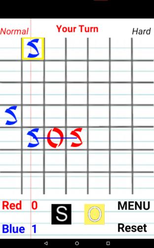 SOS Spiel screenshot 6