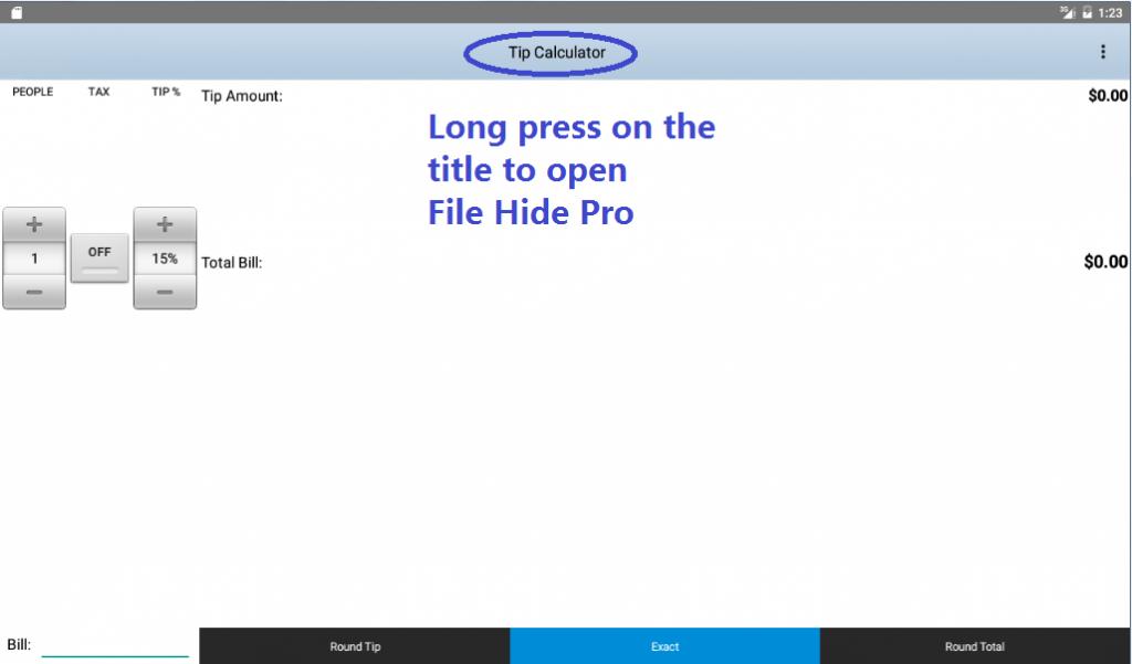 Hide File apk