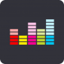 deezer stream music songs icon