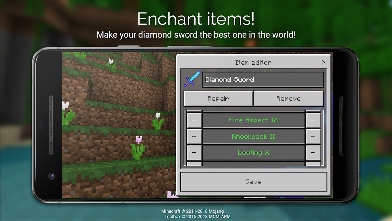 Toolbox for Minecraft: PE screenshot 5