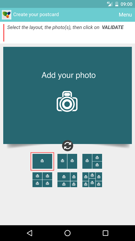 SimplyCards - Real Postcard screenshot 2