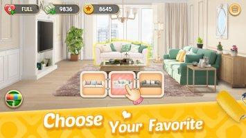 My Home - Design Dreams Screen