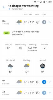 Weeronline: weer en regenradar screenshot 4