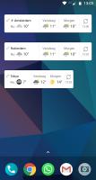 Weeronline: weer en regenradar Screen