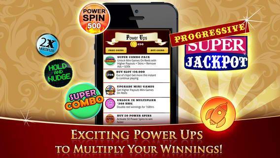 power up progressive slot machine