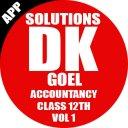 Account Class-12 Solutions (D K Goel) Vol-1
