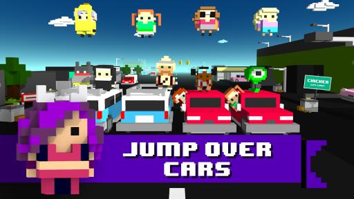 Chicken Jump - Crazy Traffic screenshot 9
