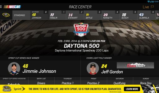 NASCAR MOBILE screenshot 9