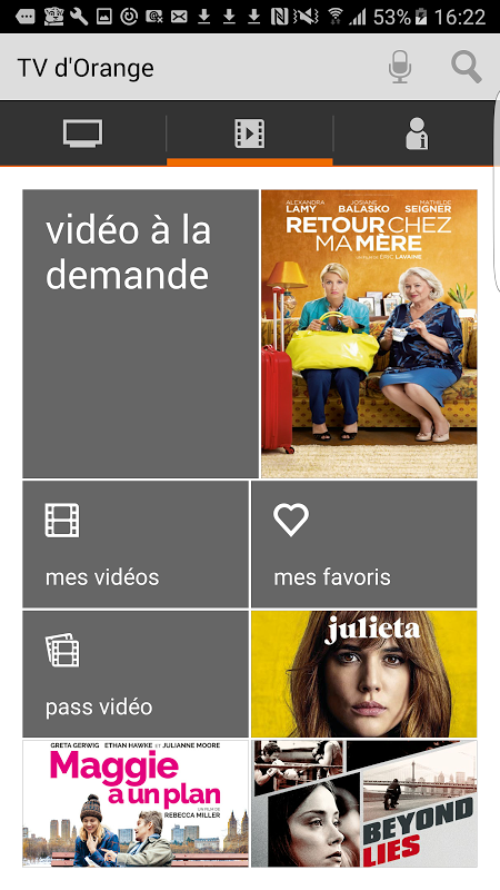 TV d'Orange, live-replay-vod screenshot 2