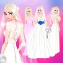 ❄ Icy Wedding ❄ Winter frozen Bride dress up