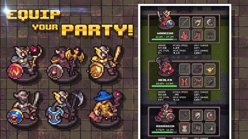 Idle Sword 2: Incremental Dungeon Crawling RPG screenshot 15