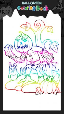Halloween Coloring Book Screenshot 1