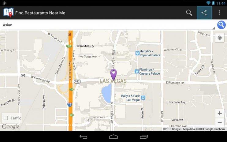 Find Restaurants Screenshot 14