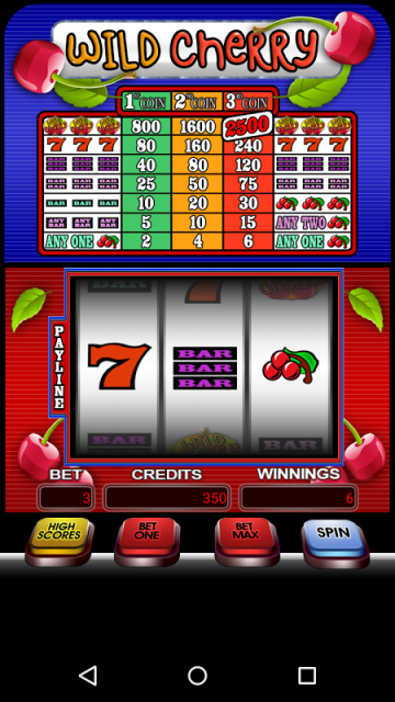 cherry bar slot machine