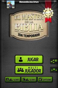 El Master de la Biblia Trivia screenshot 1
