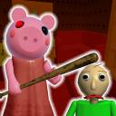 Piggy Granny & Scary Branny Baldi Horror Roblx Mod