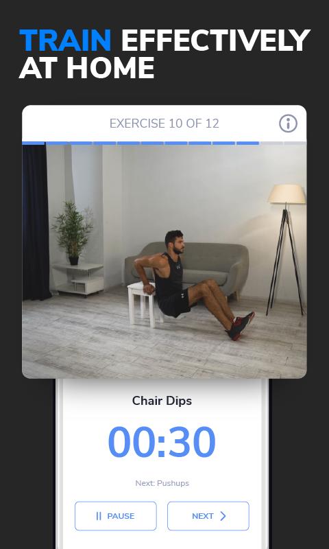 BetterMen: Workout Trainer screenshot 2