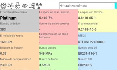Tabla peridica de elementos 30 descargar apk para android aptoide tabla periodica de elementos captura de pantalla 12 urtaz Image collections