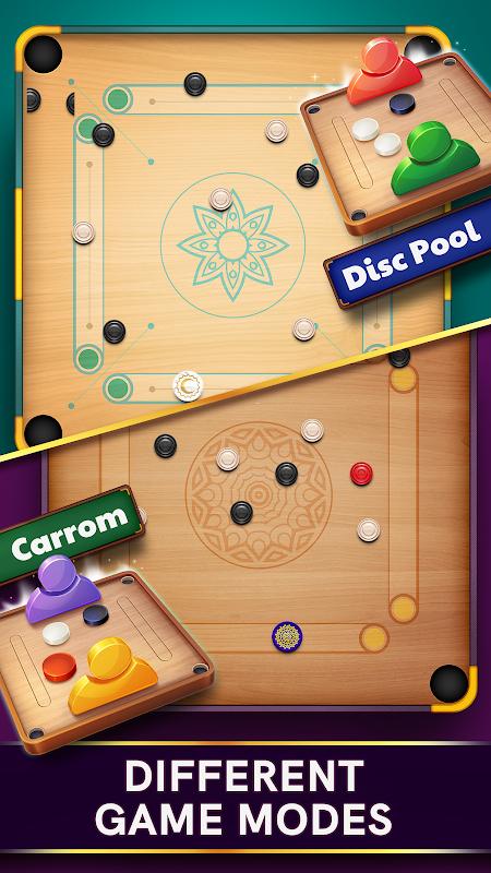 Disc Pool Carrom screenshot 1