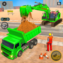 Heavy Escavatore Crane