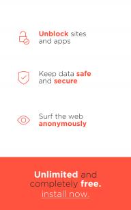 Best VPN - Free Unlimited VPN screenshot 1