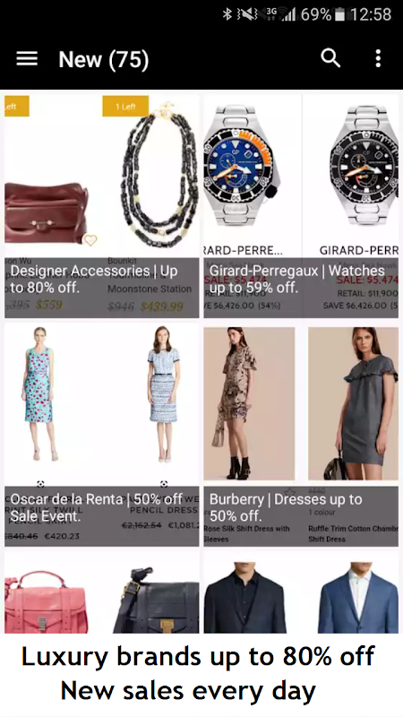 Luxury! - Deluxe deals, Shopping Luxury and style screenshot 2