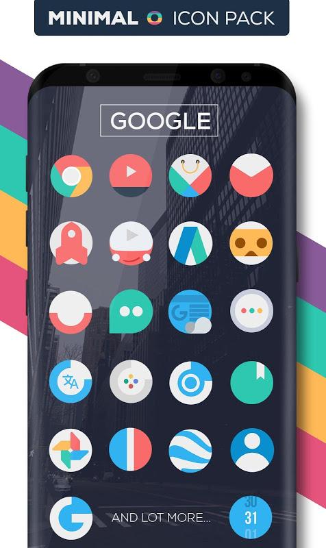Minimal O - Icon Pack screenshot 2
