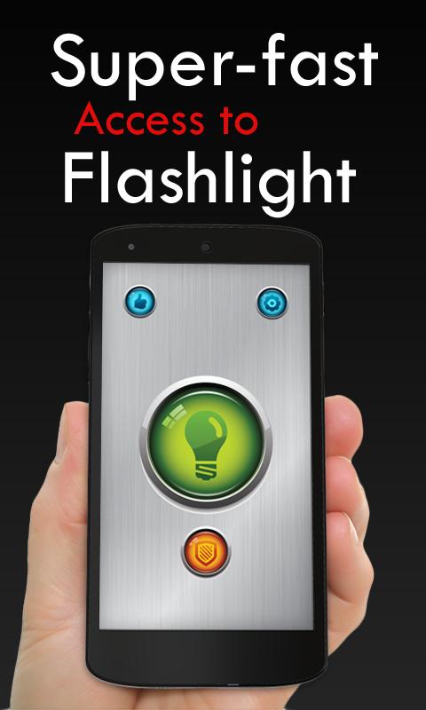 Power Button FlashLight /Torch screenshot 2