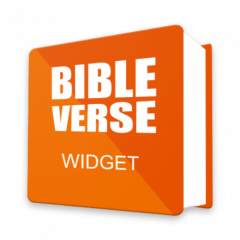 bible verse of the day widget for android